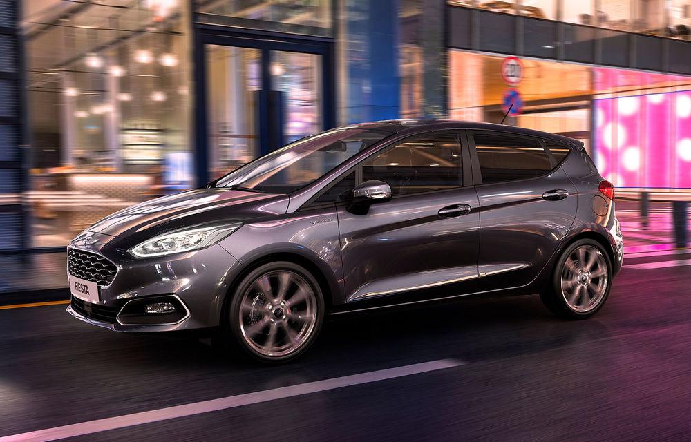 Îmbunătățiri pentru Ford Fiesta: versiuni mild-hybrid la 48V și o nouă transmisie automată cu șapte trepte - Poza 1