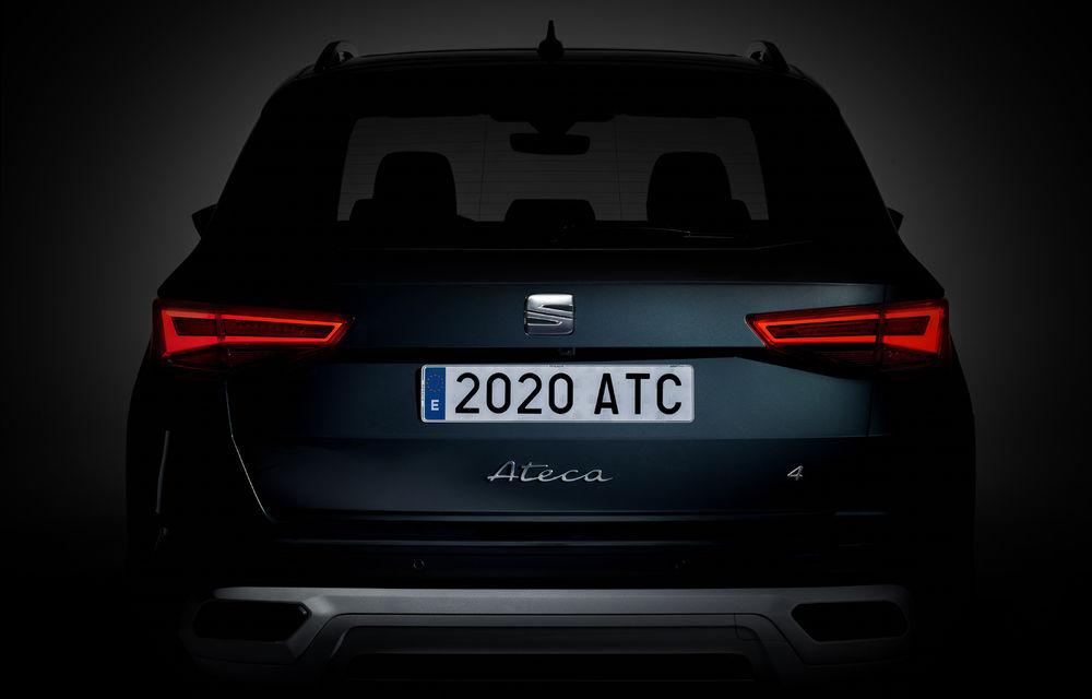 Teaser video pentru Seat Ateca facelift: SUV-ul compact va fi prezentat în 15 iunie - Poza 1