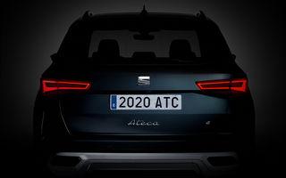 Teaser video pentru Seat Ateca facelift: SUV-ul compact va fi prezentat în 15 iunie
