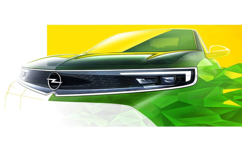 O nouă imagine teaser cu Opel Mokka: nemții pun accent pe zona frontală a viitorului SUV - Poza 1