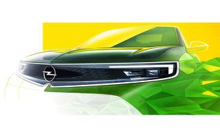 O nouă imagine teaser cu Opel Mokka: nemții pun accent pe zona frontală a viitorului SUV