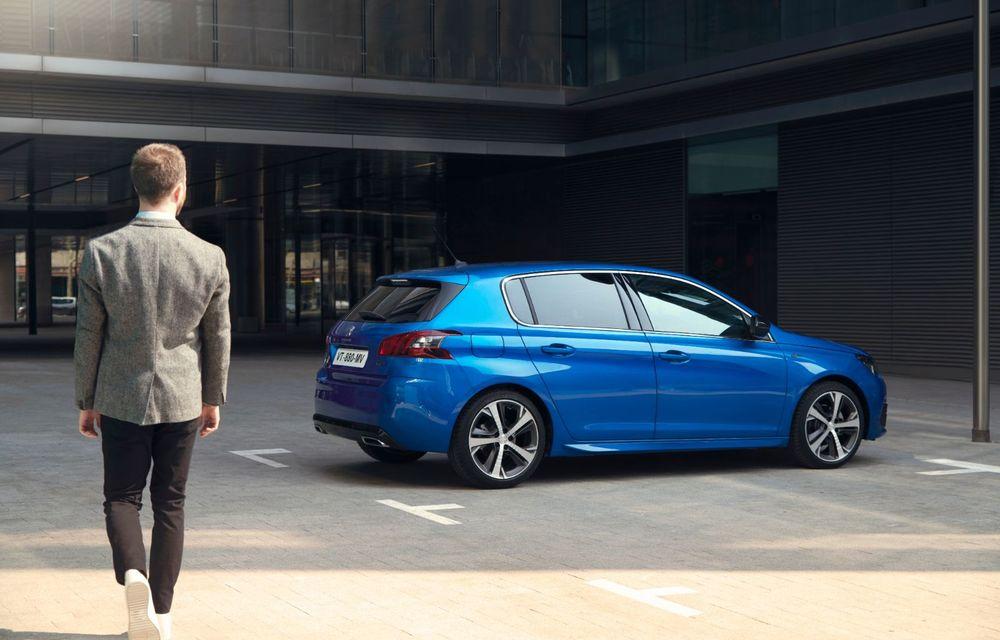 Îmbunătățiri pentru actualul Peugeot 308 facelift: culoare nouă de caroserie și instrumentar digital de bord de 10 inch - Poza 7