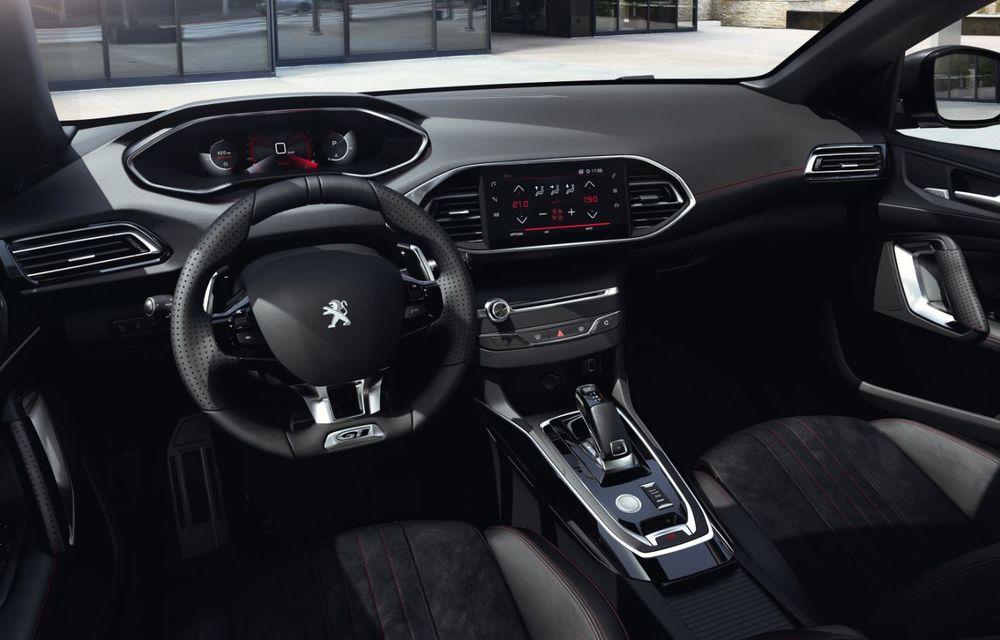 Îmbunătățiri pentru actualul Peugeot 308 facelift: culoare nouă de caroserie și instrumentar digital de bord de 10 inch - Poza 17