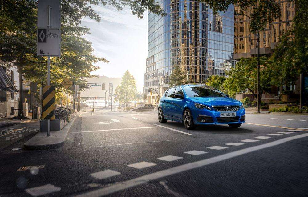 Îmbunătățiri pentru actualul Peugeot 308 facelift: culoare nouă de caroserie și instrumentar digital de bord de 10 inch - Poza 2