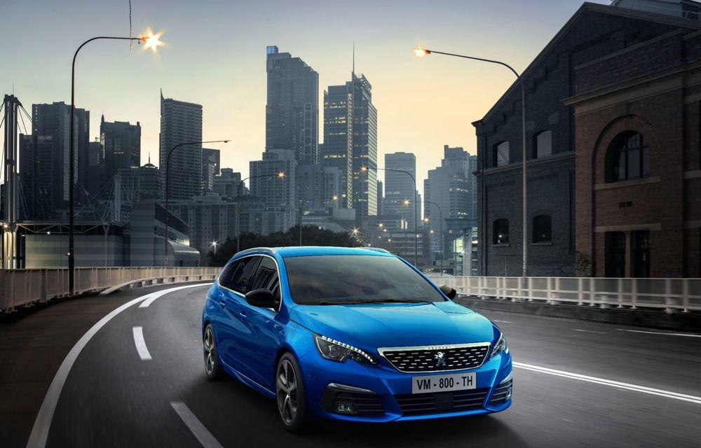 Îmbunătățiri pentru actualul Peugeot 308 facelift: culoare nouă de caroserie și instrumentar digital de bord de 10 inch - Poza 4