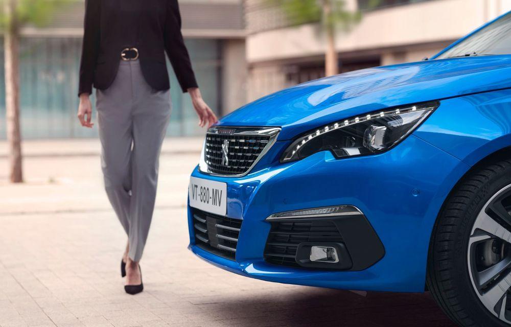 Îmbunătățiri pentru actualul Peugeot 308 facelift: culoare nouă de caroserie și instrumentar digital de bord de 10 inch - Poza 10