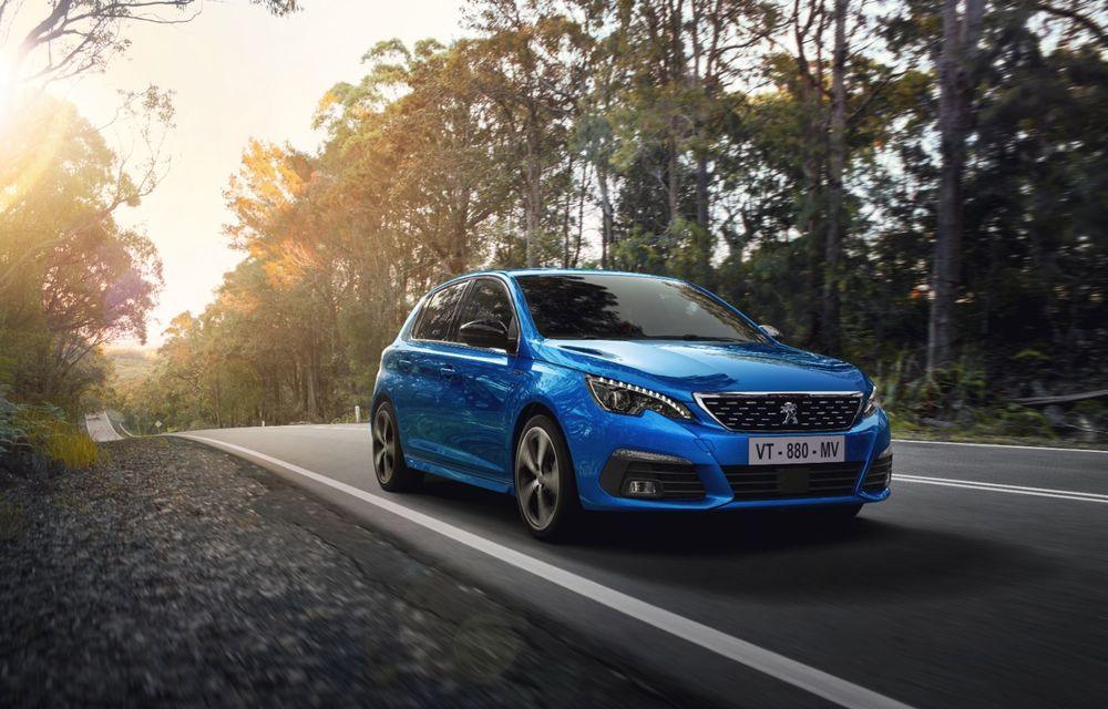 Îmbunătățiri pentru actualul Peugeot 308 facelift: culoare nouă de caroserie și instrumentar digital de bord de 10 inch - Poza 3
