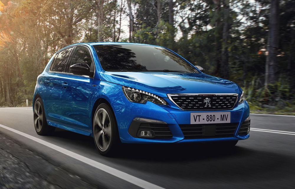 Îmbunătățiri pentru actualul Peugeot 308 facelift: culoare nouă de caroserie și instrumentar digital de bord de 10 inch - Poza 1