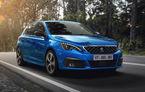 Îmbunătățiri pentru actualul Peugeot 308 facelift: culoare nouă de caroserie și instrumentar digital de bord de 10 inch