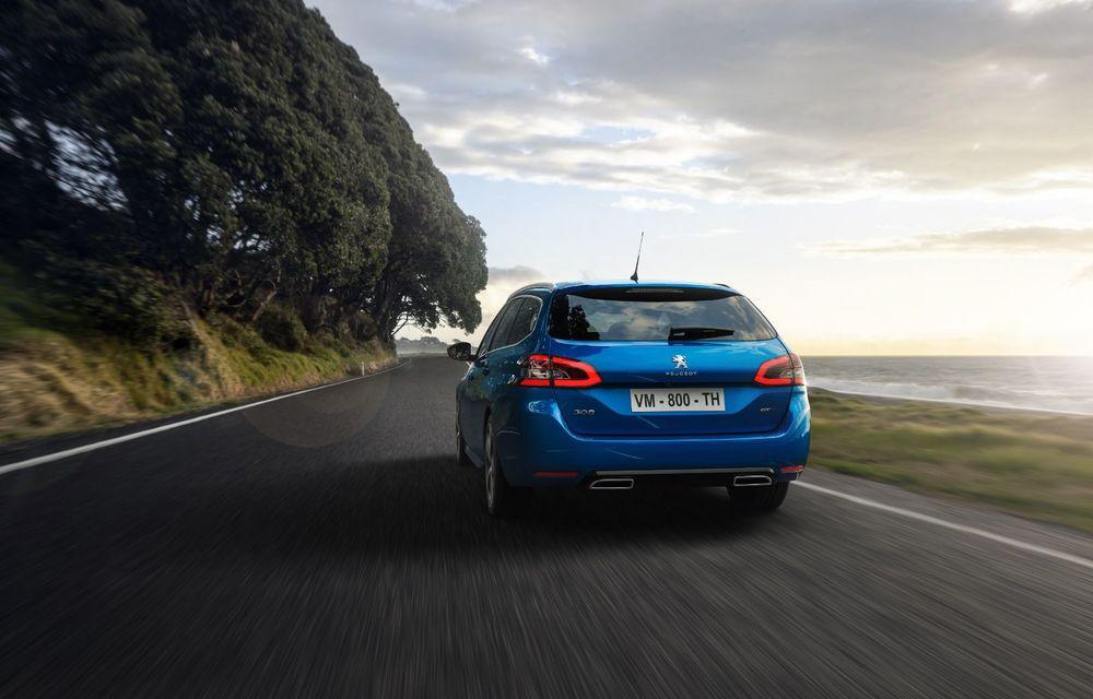 Îmbunătățiri pentru actualul Peugeot 308 facelift: culoare nouă de caroserie și instrumentar digital de bord de 10 inch - Poza 5