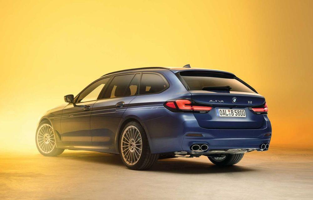Versiuni îmbunătățite pentru Alpina B5 și D5 S: modelele oferă până la 621 CP și au la bază actualul BMW Seria 5 facelift - Poza 8