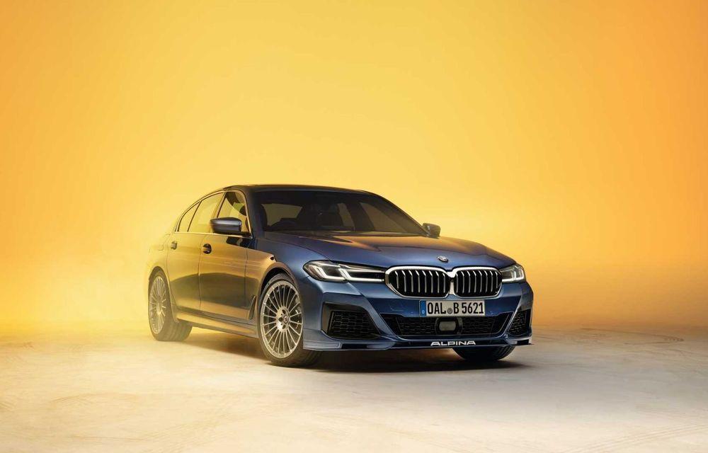 Versiuni îmbunătățite pentru Alpina B5 și D5 S: modelele oferă până la 621 CP și au la bază actualul BMW Seria 5 facelift - Poza 3