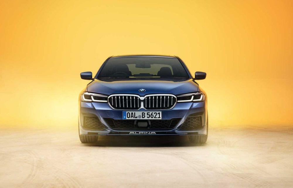 Versiuni îmbunătățite pentru Alpina B5 și D5 S: modelele oferă până la 621 CP și au la bază actualul BMW Seria 5 facelift - Poza 4