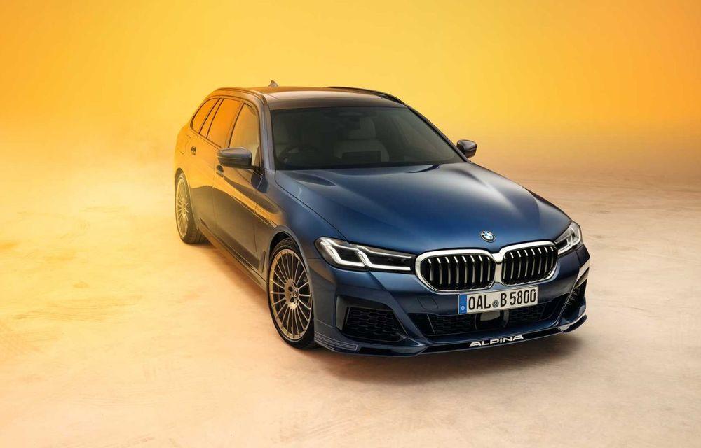 Versiuni îmbunătățite pentru Alpina B5 și D5 S: modelele oferă până la 621 CP și au la bază actualul BMW Seria 5 facelift - Poza 10