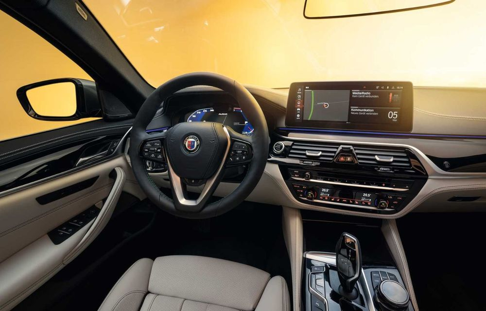 Versiuni îmbunătățite pentru Alpina B5 și D5 S: modelele oferă până la 621 CP și au la bază actualul BMW Seria 5 facelift - Poza 20
