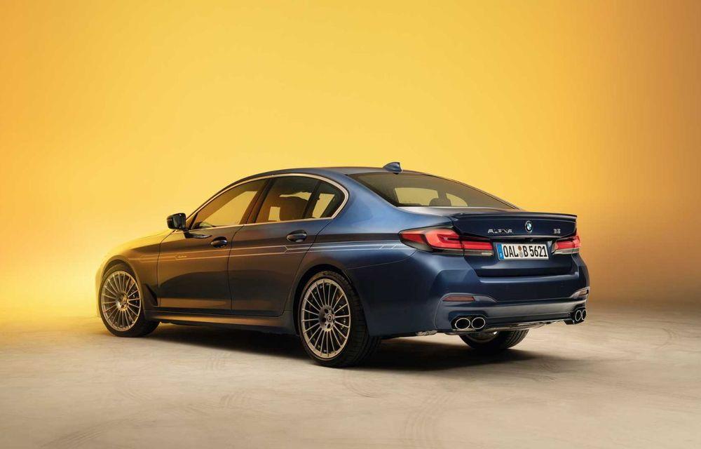 Versiuni îmbunătățite pentru Alpina B5 și D5 S: modelele oferă până la 621 CP și au la bază actualul BMW Seria 5 facelift - Poza 6