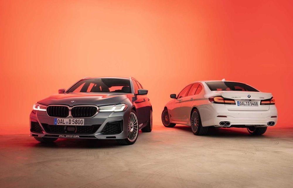 Versiuni îmbunătățite pentru Alpina B5 și D5 S: modelele oferă până la 621 CP și au la bază actualul BMW Seria 5 facelift - Poza 2