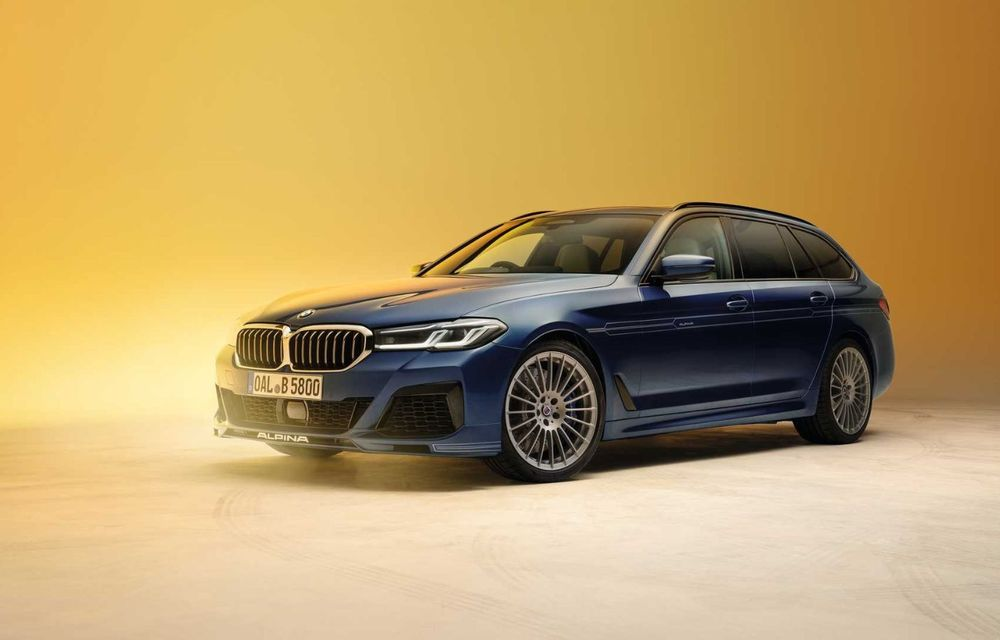 Versiuni îmbunătățite pentru Alpina B5 și D5 S: modelele oferă până la 621 CP și au la bază actualul BMW Seria 5 facelift - Poza 7