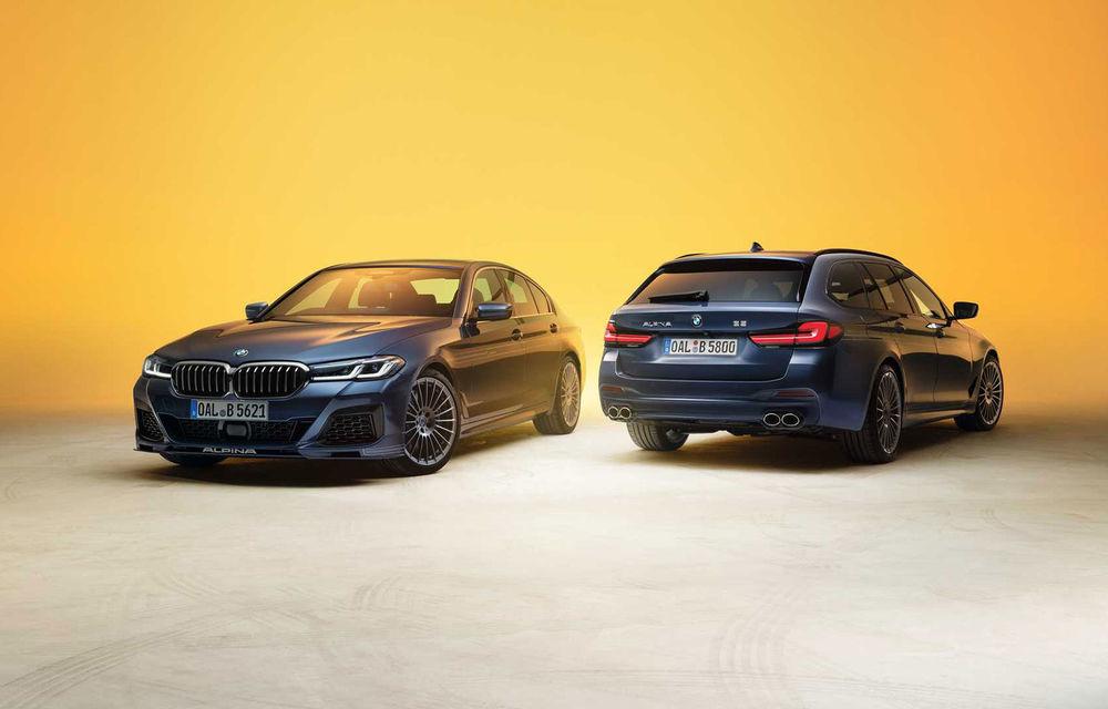 Versiuni îmbunătățite pentru Alpina B5 și D5 S: modelele oferă până la 621 CP și au la bază actualul BMW Seria 5 facelift - Poza 1