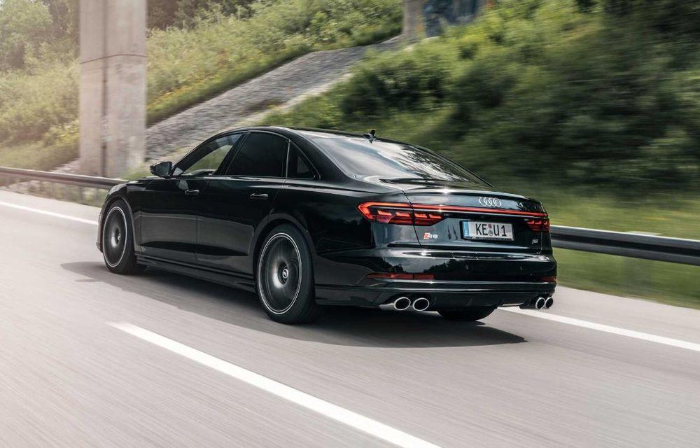 ABT lansează un pachet de performanță pentru Audi S8: motorul V8 dezvoltă acum 700 CP - Poza 2