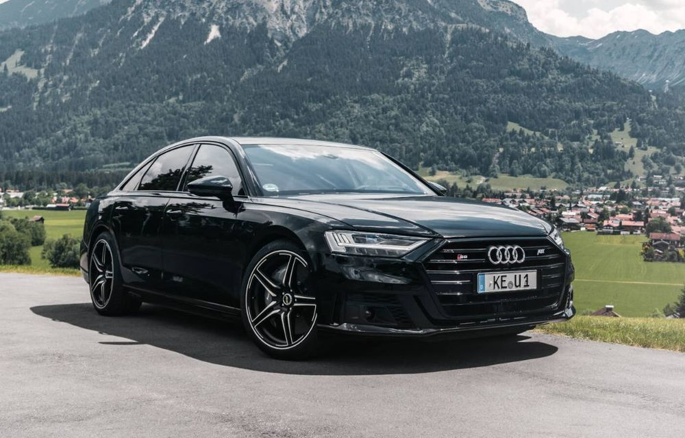 ABT lansează un pachet de performanță pentru Audi S8: motorul V8 dezvoltă acum 700 CP - Poza 3