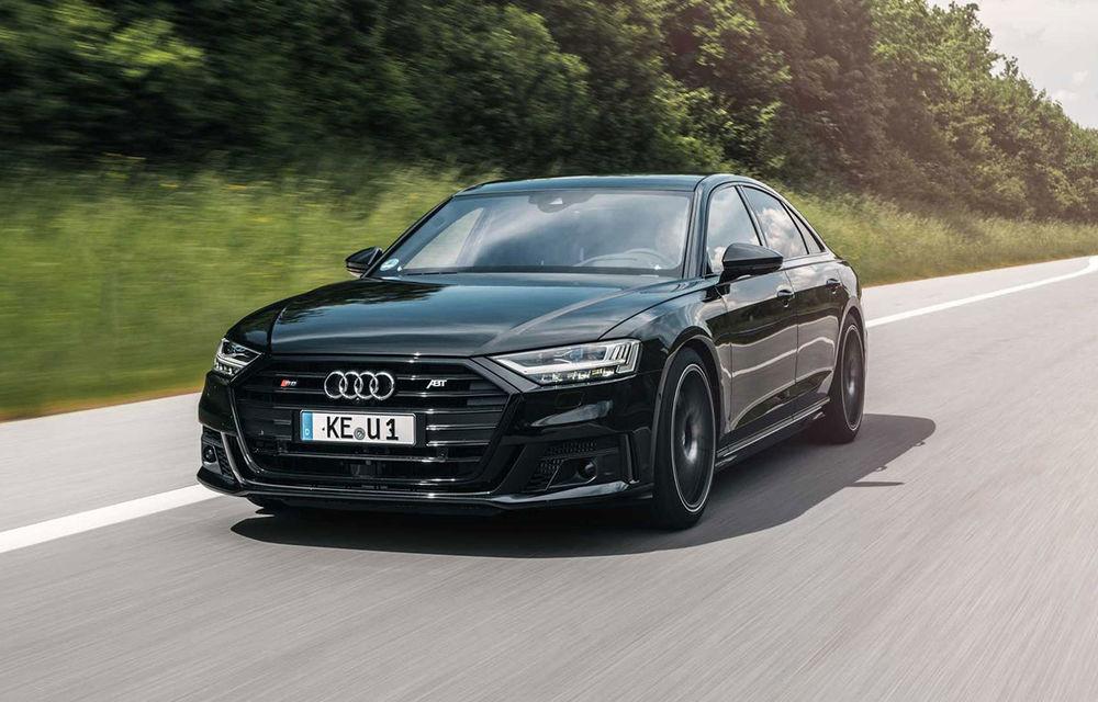 ABT lansează un pachet de performanță pentru Audi S8: motorul V8 dezvoltă acum 700 CP - Poza 1