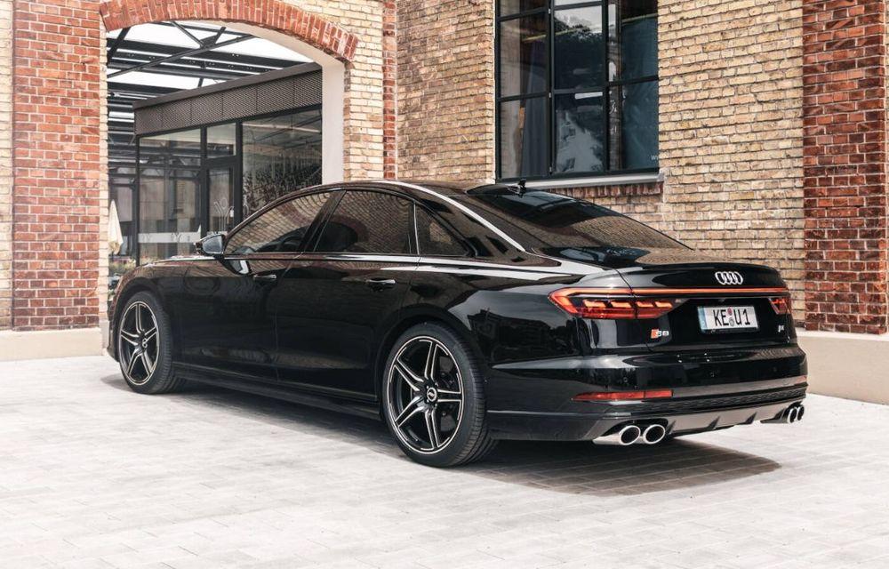 ABT lansează un pachet de performanță pentru Audi S8: motorul V8 dezvoltă acum 700 CP - Poza 4
