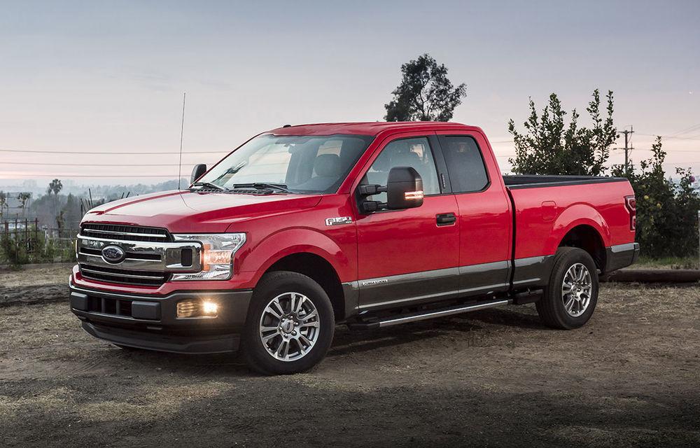 Noua generație Ford F-150 va fi prezentată în iulie: pick-up-ul va primi și o versiune electrică în 2022 - Poza 1