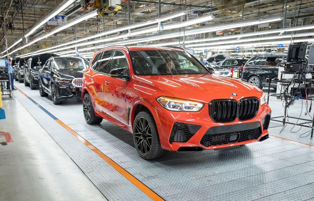Sărbătoare la BMW: 5 milioane de mașini asamblate în uzina din Spartanburg, SUA - Poza 7