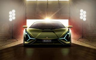 Informații neoficiale: Lamborghini ar putea lansa anul acesta versiunea Roadster a hypercar-ului Sian
