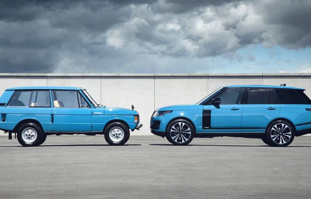 Range Rover împlinește 50 de ani de la debut: momentul este marcat de ediția specială Fifty - Poza 5
