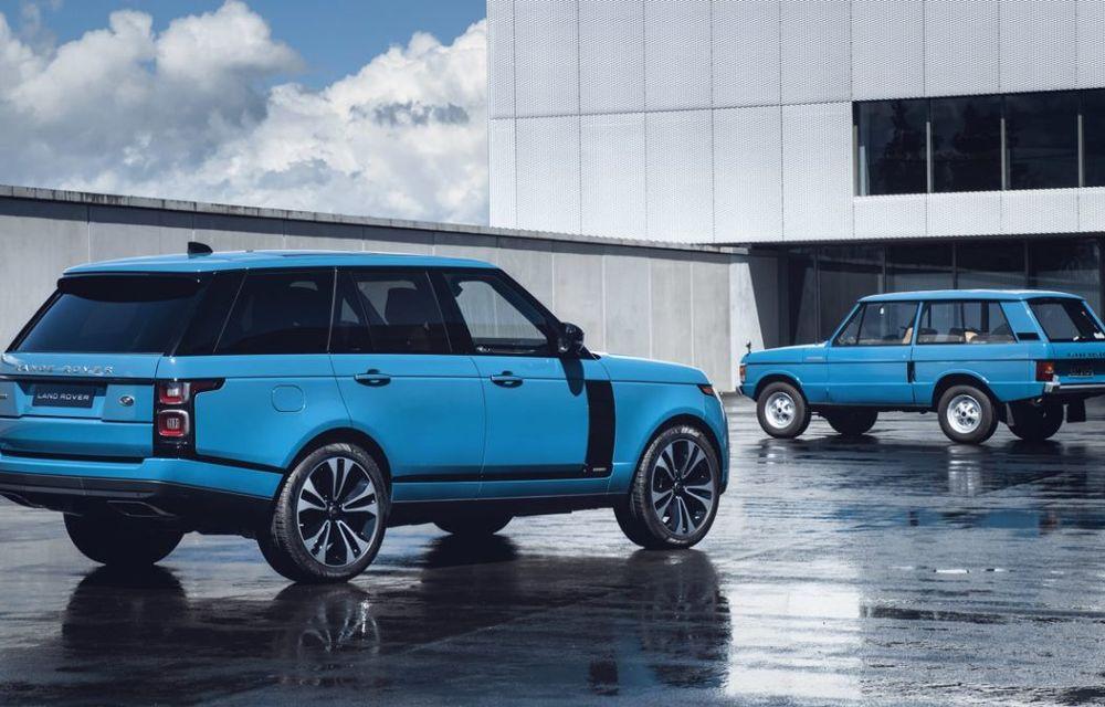Range Rover împlinește 50 de ani de la debut: momentul este marcat de ediția specială Fifty - Poza 4