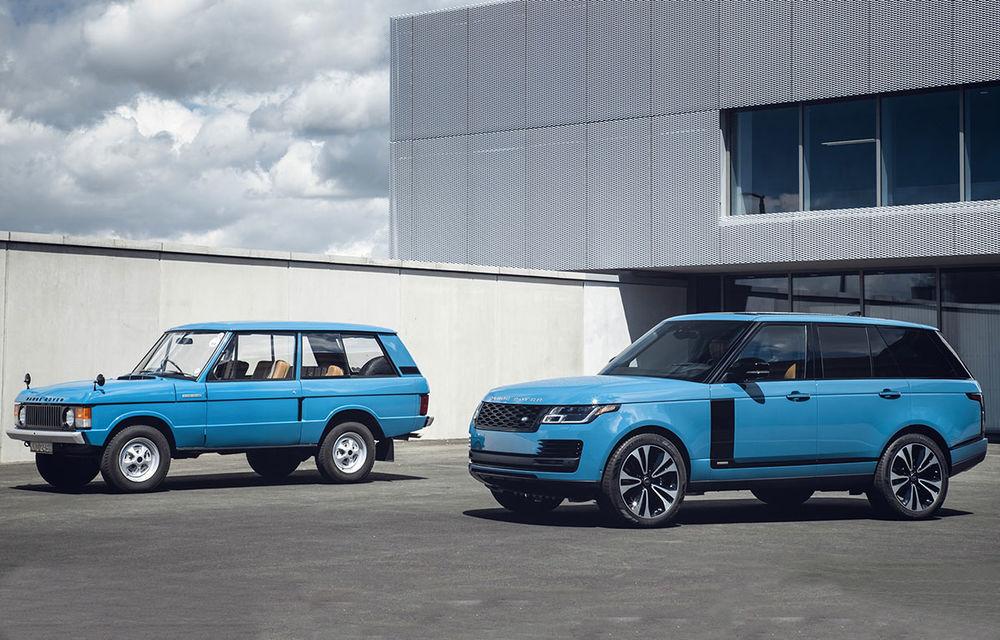 Range Rover împlinește 50 de ani de la debut: momentul este marcat de ediția specială Fifty - Poza 1