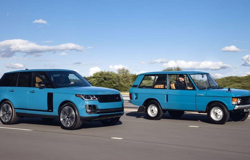 Range Rover împlinește 50 de ani de la debut: momentul este marcat de ediția specială Fifty - Poza 3