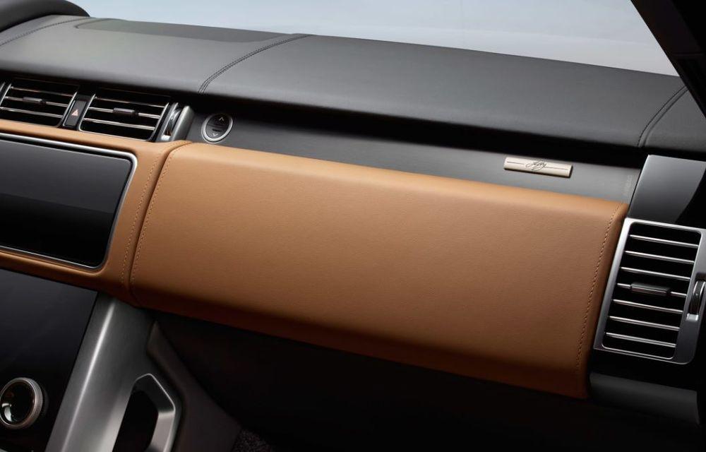 Range Rover împlinește 50 de ani de la debut: momentul este marcat de ediția specială Fifty - Poza 9