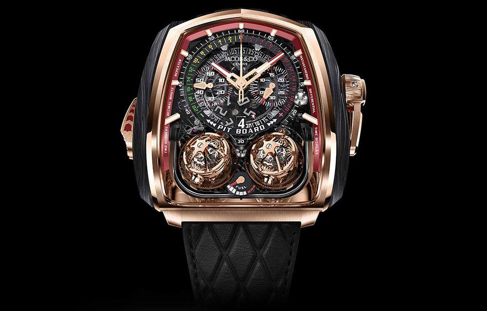 Jacob & Co a lansat un ceas dedicat versiunii Bugatti Chiron Super Sport 300+: doar 18 unități și preț de 580.000 de dolari - Poza 1