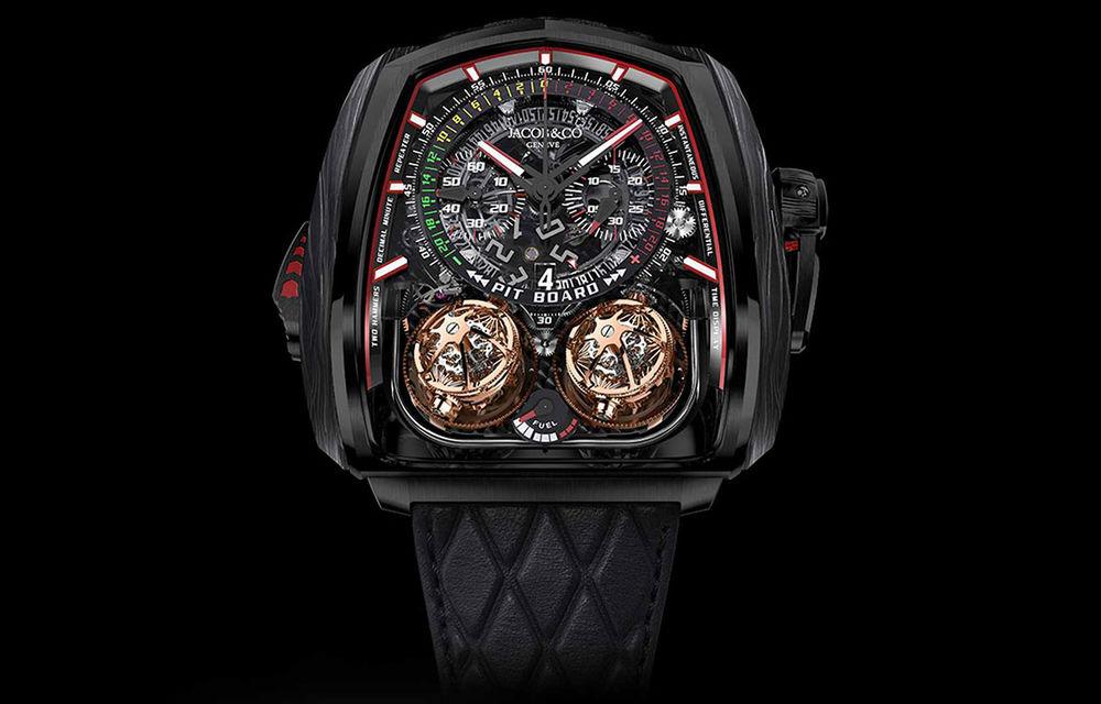 Jacob & Co a lansat un ceas dedicat versiunii Bugatti Chiron Super Sport 300+: doar 18 unități și preț de 580.000 de dolari - Poza 2