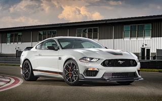 Primele imagini cu Ford Mustang Mach 1: noua versiune limitată preia motorul V8 de 5.0 litri și 480 de cai putere de la GT