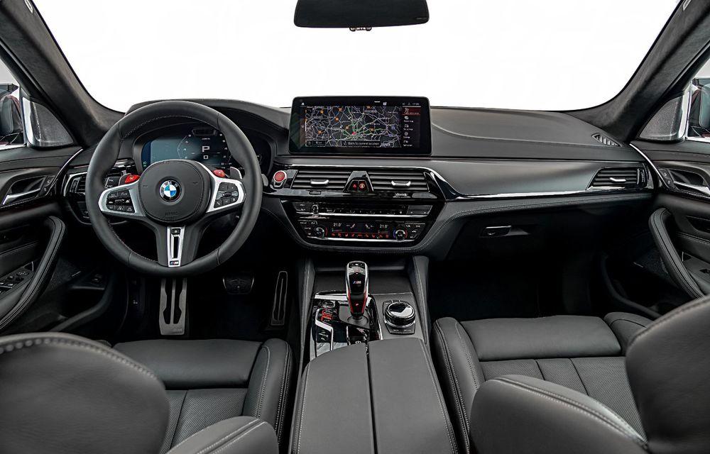 BMW a prezentat M5 și M5 Competition facelift: noutăți estetice și ecran central de 12.3 inch pentru versiunile de performanță - Poza 63