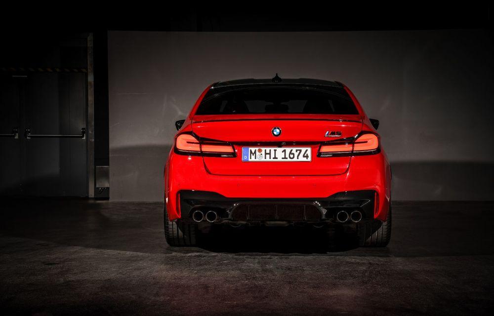 BMW a prezentat M5 și M5 Competition facelift: noutăți estetice și ecran central de 12.3 inch pentru versiunile de performanță - Poza 35