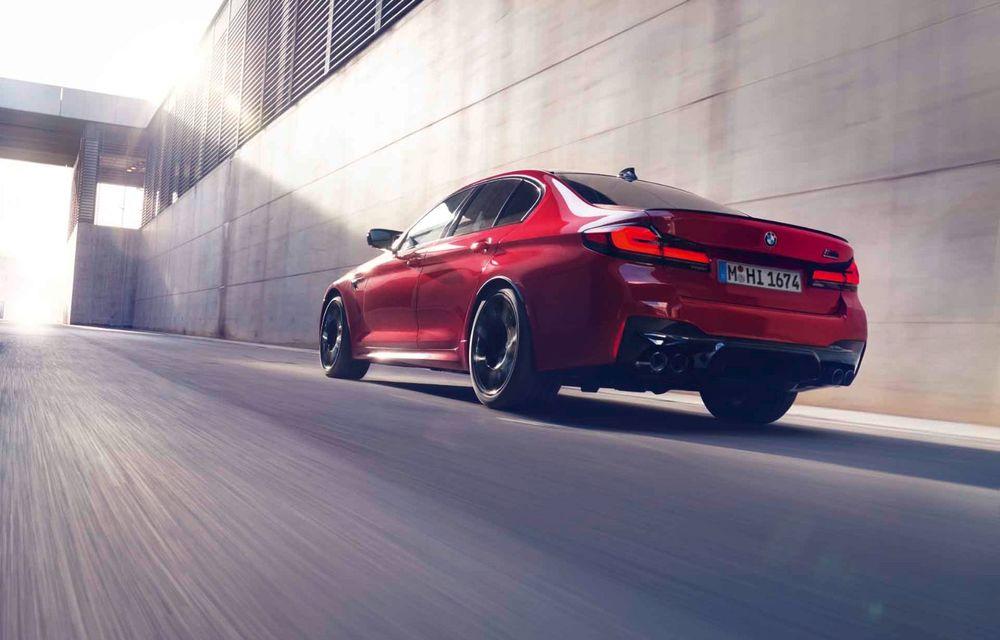BMW a prezentat M5 și M5 Competition facelift: noutăți estetice și ecran central de 12.3 inch pentru versiunile de performanță - Poza 60
