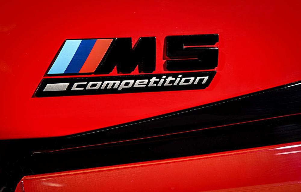 BMW a prezentat M5 și M5 Competition facelift: noutăți estetice și ecran central de 12.3 inch pentru versiunile de performanță - Poza 42