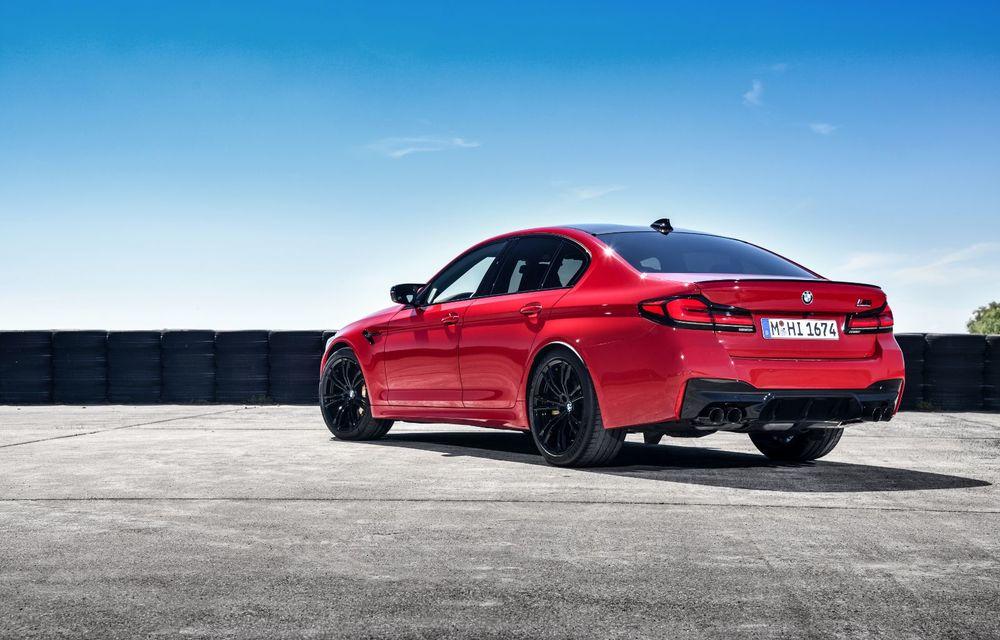 BMW a prezentat M5 și M5 Competition facelift: noutăți estetice și ecran central de 12.3 inch pentru versiunile de performanță - Poza 23