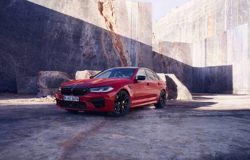 BMW a prezentat M5 și M5 Competition facelift: noutăți estetice și ecran central de 12.3 inch pentru versiunile de performanță - Poza 55