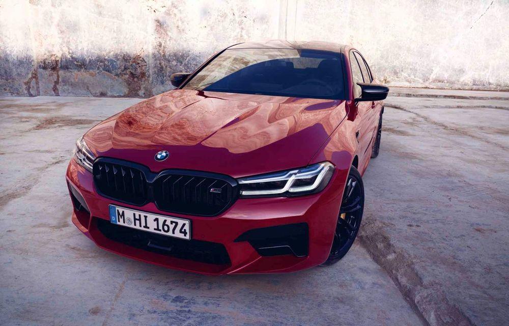 BMW a prezentat M5 și M5 Competition facelift: noutăți estetice și ecran central de 12.3 inch pentru versiunile de performanță - Poza 53