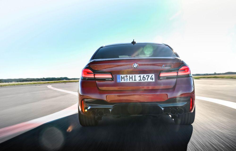 BMW a prezentat M5 și M5 Competition facelift: noutăți estetice și ecran central de 12.3 inch pentru versiunile de performanță - Poza 15