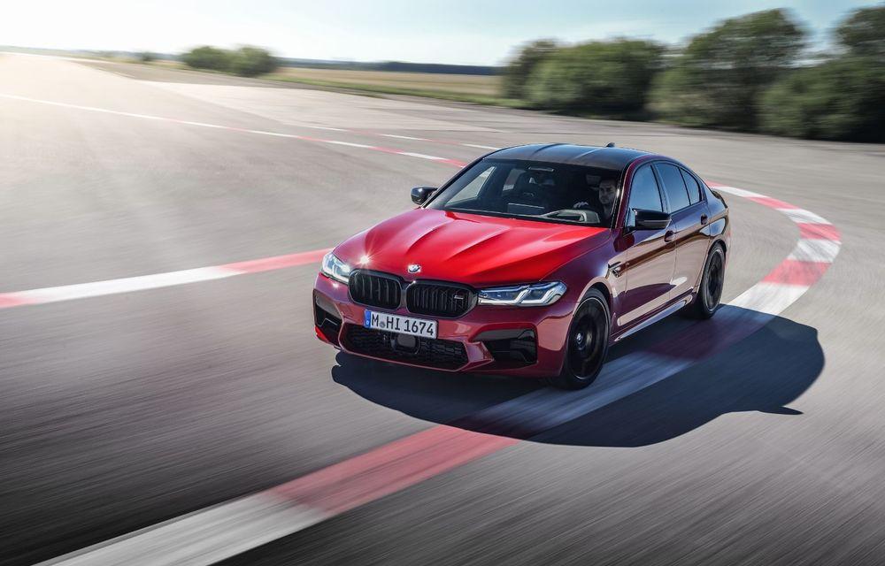 BMW a prezentat M5 și M5 Competition facelift: noutăți estetice și ecran central de 12.3 inch pentru versiunile de performanță - Poza 7