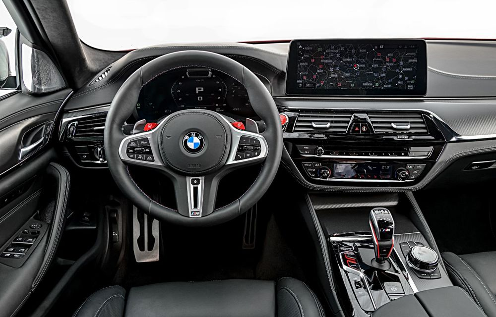 BMW a prezentat M5 și M5 Competition facelift: noutăți estetice și ecran central de 12.3 inch pentru versiunile de performanță - Poza 64
