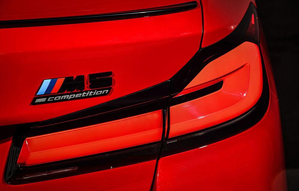 BMW a prezentat M5 și M5 Competition facelift: noutăți estetice și ecran central de 12.3 inch pentru versiunile de performanță - Poza 41
