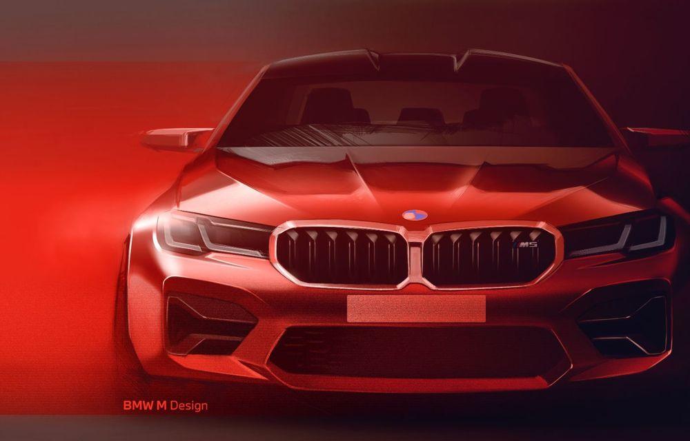BMW a prezentat M5 și M5 Competition facelift: noutăți estetice și ecran central de 12.3 inch pentru versiunile de performanță - Poza 77